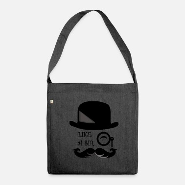 Gentleman gentleman - Shoulder Bag made from recycled material