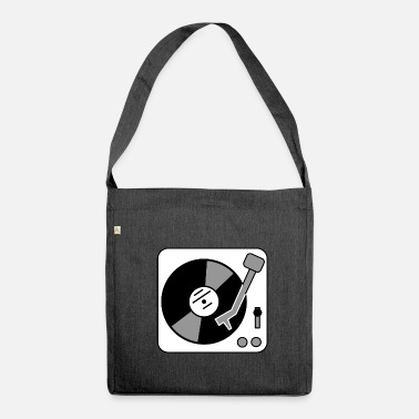 Turntable Turntable - turntable - Shoulder Bag made from recycled material