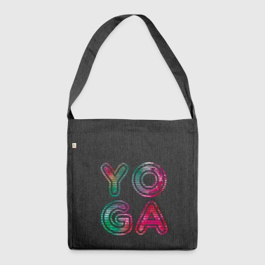 Yoga Typo - Borsa in materiale riciclato