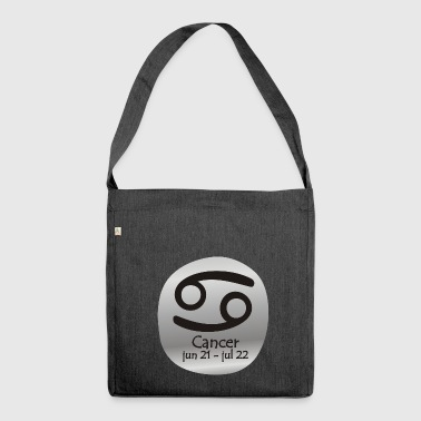 Cancer Horoscope - Shoulder Bag made from recycled material