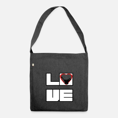 Electronics Technician Love dear electronics technician - Shoulder Bag recycled