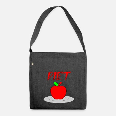 Diet diet - Shoulder Bag made from recycled material