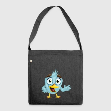 Bird, bird - Shoulder Bag made from recycled material