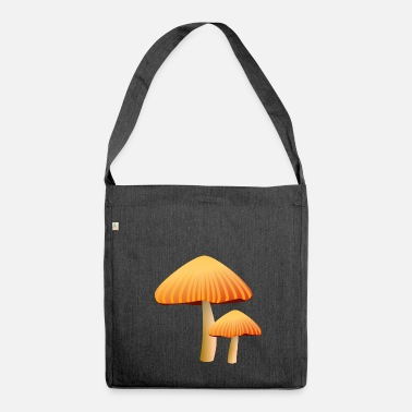 Mushroom mushrooms - Shoulder Bag made from recycled material