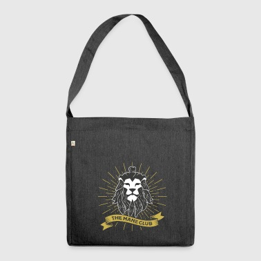 The Man / Mane Club - The Man / Mane Club Retro - Shoulder Bag made from recycled material