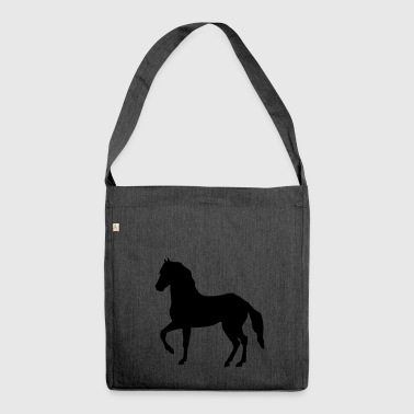 horse rapping - Shoulder Bag made from recycled material