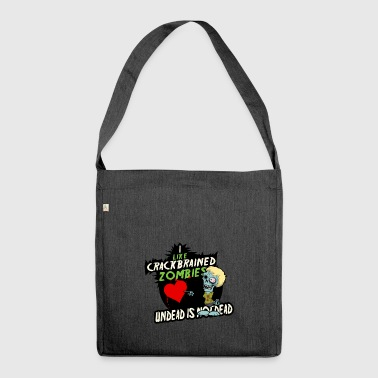 Undead is not dead - Schultertasche aus Recycling-Material