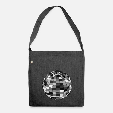 Disco Ball Disco ball - Shoulder Bag made from recycled material