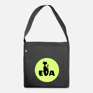 First Name Eva Name First name - Shoulder Bag made from recycled material