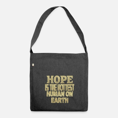 Hope Hope - Shoulder Bag made from recycled material