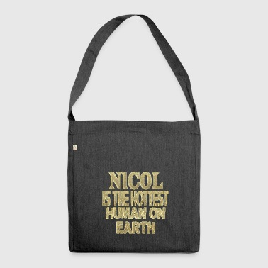 Nicol - Schultertasche aus Recycling-Material
