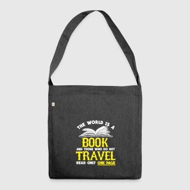 BOOK BOOK BOOK GIFT - Shoulder Bag made from recycled material
