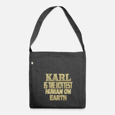 Karl Karl - Shoulder Bag made from recycled material
