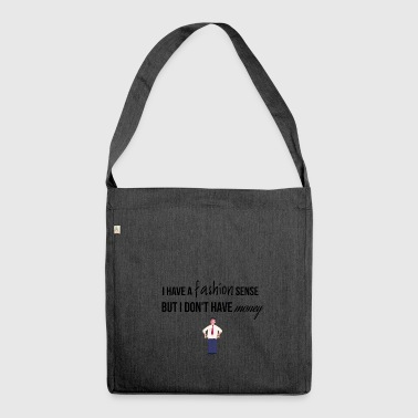 Fashion sense - Schultertasche aus Recycling-Material