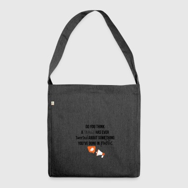 Public issues - Shoulder Bag made from recycled material