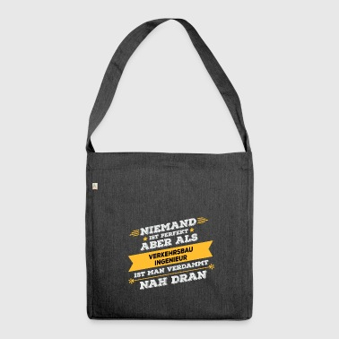 Transportation engineer profession - Shoulder Bag made from recycled material
