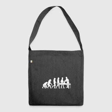 Physiotherapy evolution physio therapist gift - Shoulder Bag made from recycled material