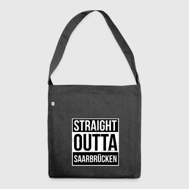 Straight Outta Saarbrücken - Shoulder Bag made from recycled material