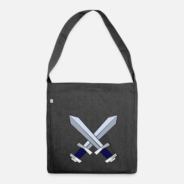 Sword sword - Shoulder Bag made from recycled material