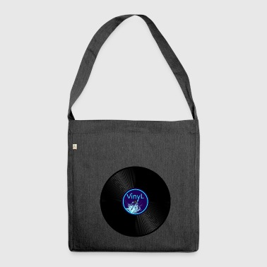 vinyl - Shoulder Bag made from recycled material