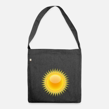 Tempest rainbow sun clouds weather rainbow sun cloud50 - Shoulder Bag made from recycled material