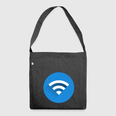WiFi (WiFi) - Shoulder Bag made from recycled material
