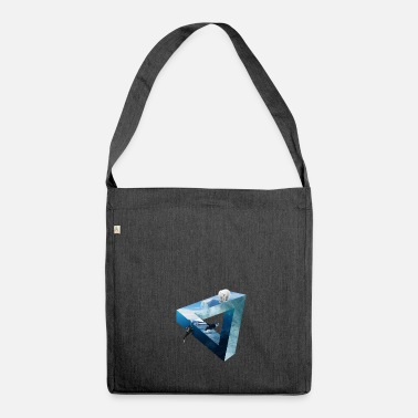 Arctic Arctic mix - Shoulder Bag made from recycled material