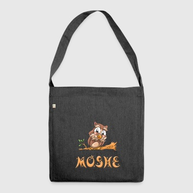Eule Moshe - Schultertasche aus Recycling-Material