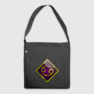 Cancer - Horoscope - Shoulder Bag made from recycled material