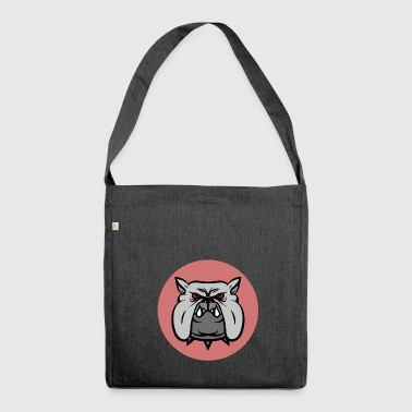bulldog - Shoulder Bag made from recycled material