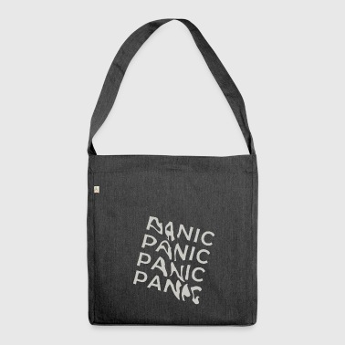 panic - Schultertasche aus Recycling-Material