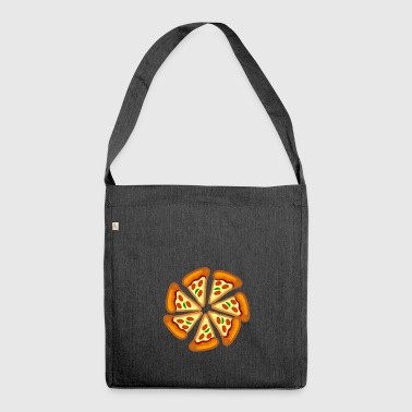 pizza pizza - Shoulder Bag made from recycled material