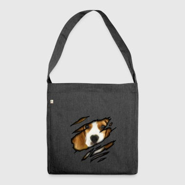 Beagle Beagle in me - Shoulder Bag made from recycled material