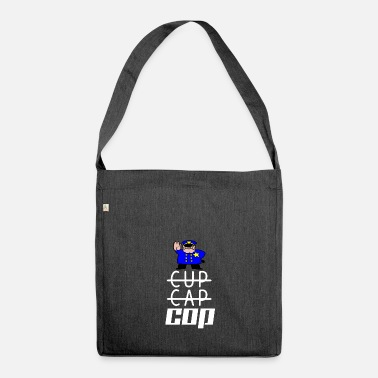 Cop cop - Shoulder Bag made from recycled material