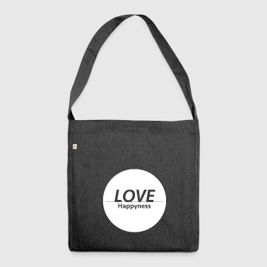 Love & Happiness - Sac bandoulière 100 % recyclé