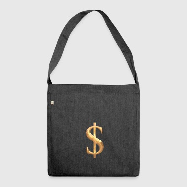 dollar - Shoulder Bag made from recycled material