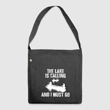 The Lake Is Calling - Shoulder Bag made from recycled material