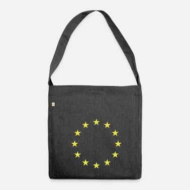 Eu EU stars - Shoulder Bag made from recycled material