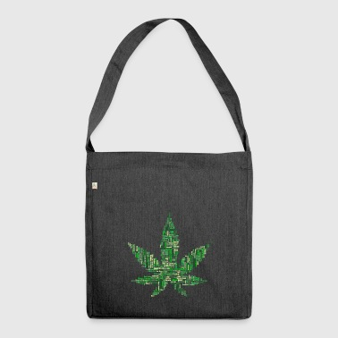 marijuana - Shoulder Bag made from recycled material