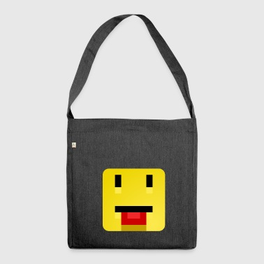 Tongue Out - Shoulder Bag made from recycled material