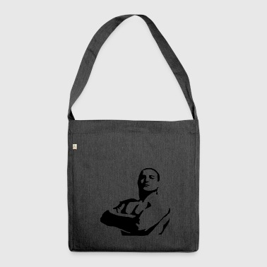 Bodybuilder Powerlifter - Shoulder Bag made from recycled material
