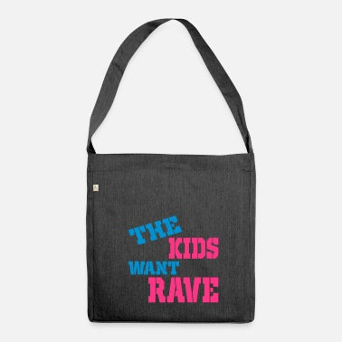 Raver Rave - Schultertasche aus Recycling-Material