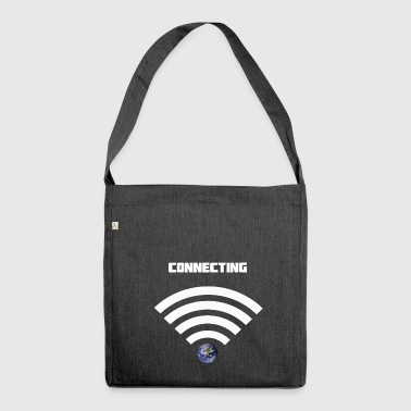 Wifi - Shoulder Bag made from recycled material