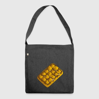 belgian waffles belgian waffles breakfast1 - Shoulder Bag made from recycled material