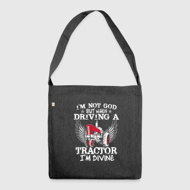 Tractor Shirt · Agriculture · Divine - Shoulder Bag made from recycled material