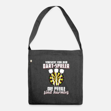 Dart Darts Shirt · Darts · Darts · Darts are harmless - Shoulder Bag recycled