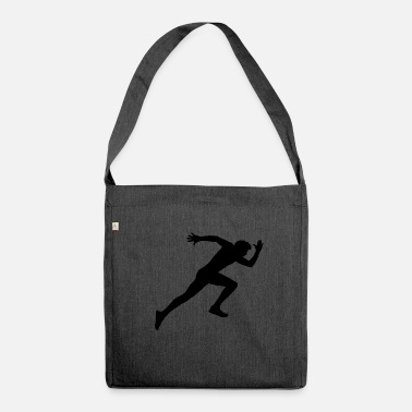 Sprint Runner, sport, corse sprint, - Borsa in materiale riciclato