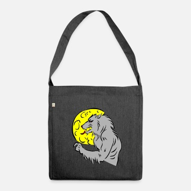 Werewolf werewolf - Shoulder Bag made from recycled material