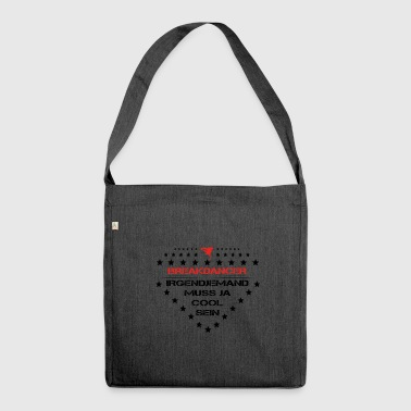birthday must be cool breakdance bboy - Shoulder Bag made from recycled material
