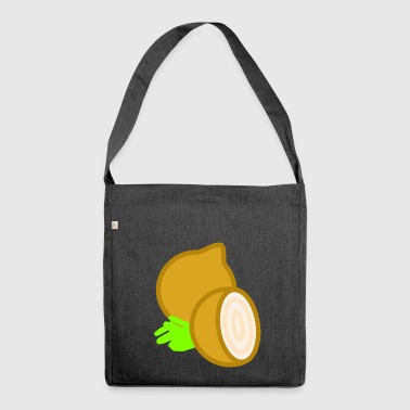 onions halloween vegetables vegetables23 - Shoulder Bag made from recycled material